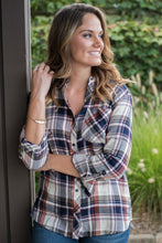 Load image into Gallery viewer, Something About You Plaid Top