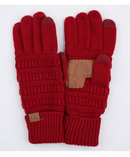 Load image into Gallery viewer, C. C Fleece Lined Touch Screen Gloves (Additional Colors)