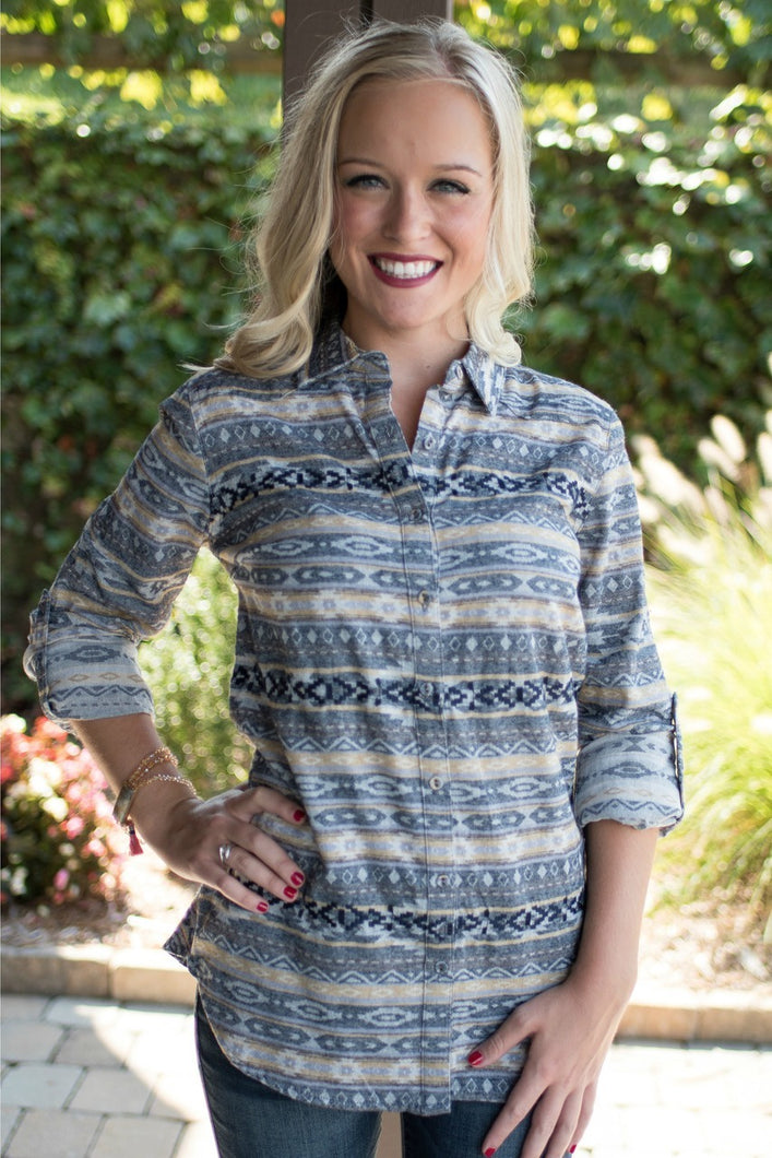 Sonoran Living Button Up