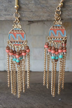 Load image into Gallery viewer, Tribal Vibes Earrings