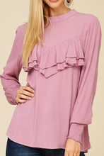 Load image into Gallery viewer, Mauve in Love Blouse