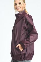 Load image into Gallery viewer, Cross Country Windbreaker (Burgundy)