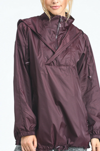 Cross Country Windbreaker (Burgundy)
