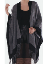 Load image into Gallery viewer, She's in Charge Poncho Cape