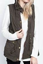 Load image into Gallery viewer, A Casual In-Vestment (Faux Fur Lined Vest)