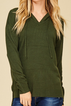 Load image into Gallery viewer, Midnight Stroll Hoodie (Olive)