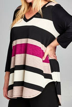 Load image into Gallery viewer, Magenta Meetup Tunic Top
