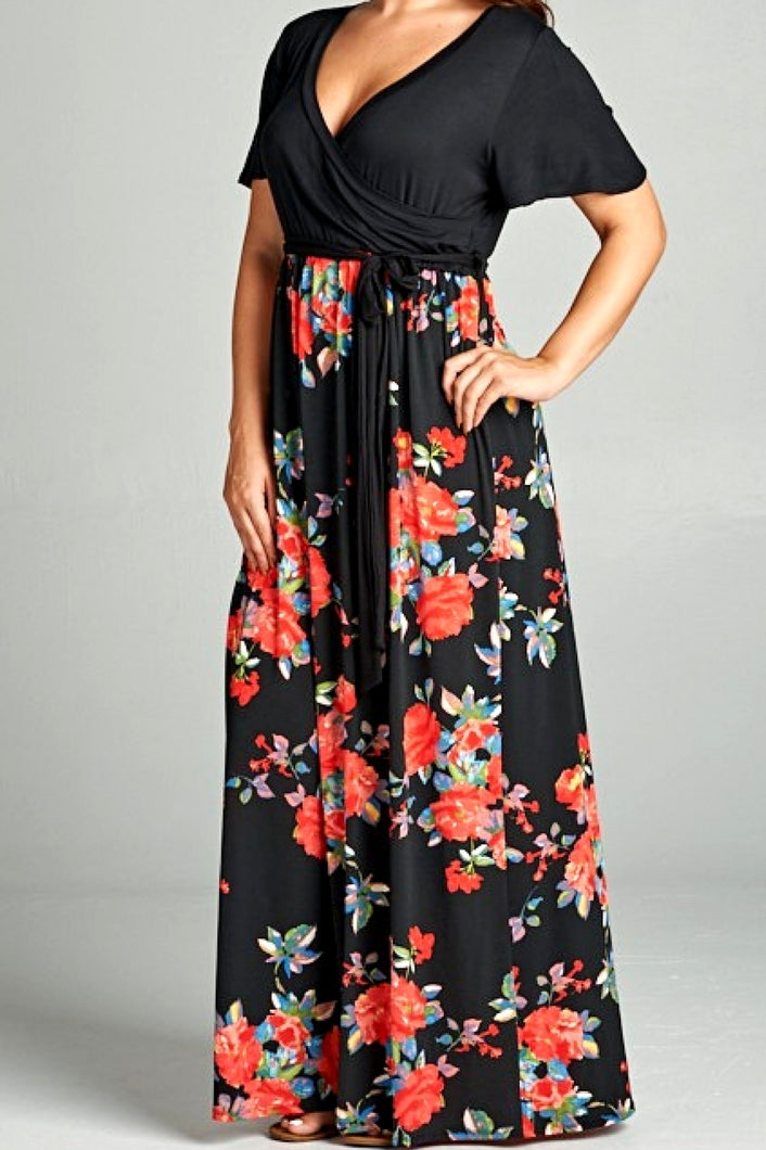 Field of Roses Maxi