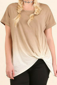 Totally Twisted Top (Ombre')