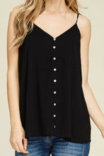 Load image into Gallery viewer, Such a Sweetheart Tank (Black)