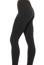 Load image into Gallery viewer, Find Your Own Moto Jeggings (Black)