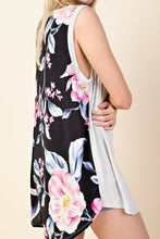 Load image into Gallery viewer, Burst Into Bloom Tunic Tank