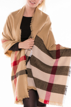 Load image into Gallery viewer, Leave the Cold Behind Scarf (Tan)