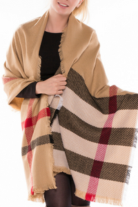 Leave the Cold Behind Scarf (Tan)