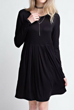 Load image into Gallery viewer, Dinner Date Dress (Black)