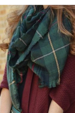 Load image into Gallery viewer, Olive You The Most Blanket Scarf