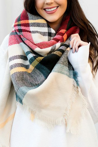 Cozy Nights Blanket Scarf