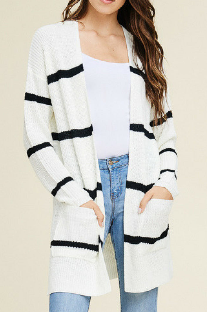 Seize the Day Cardigan (White)