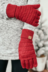 C. C Touch Screen Gloves (Additional Colors)