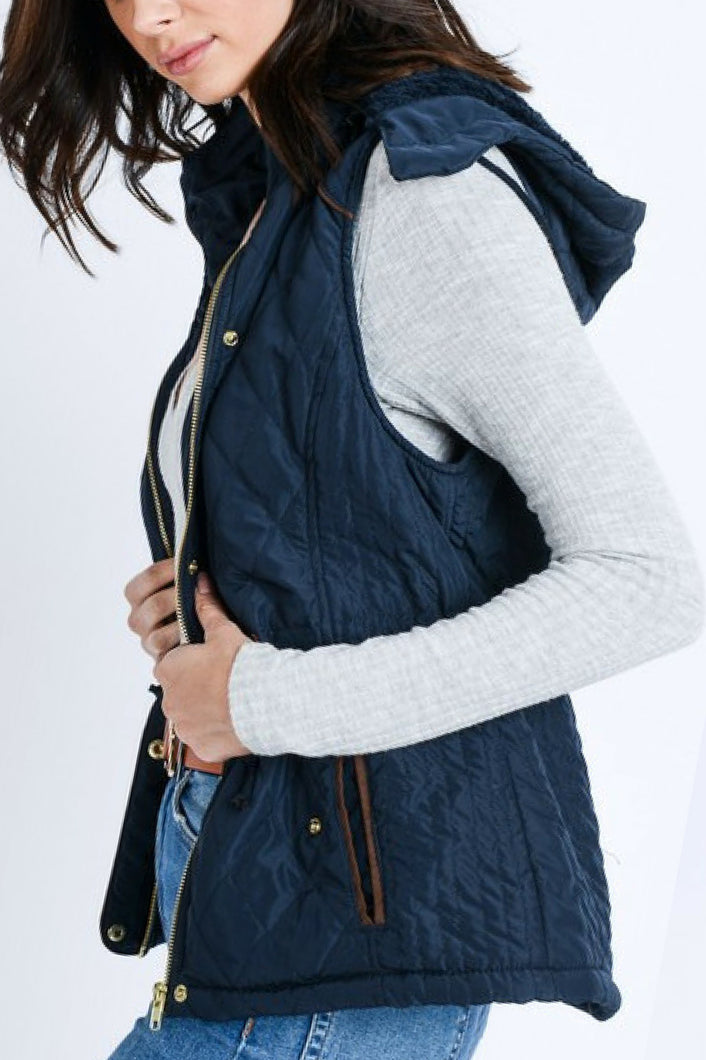 Take a Hike Vest (Navy)