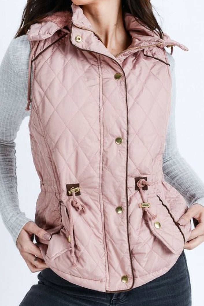 Take a Hike Vest (Mauve)