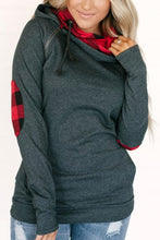 Load image into Gallery viewer, DoubleHood Ampersand Ave™ Sweatshirt - Buffalo Plaid (Curvy)