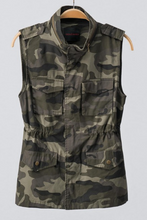 Load image into Gallery viewer, Can You See Me Now Camo Vest (Plus)