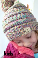 Load image into Gallery viewer, C. C Kids Pom Pom Beanie (Additional Colors)