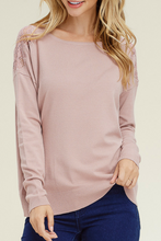 Load image into Gallery viewer, Meet in Manhattan Sweater (Rose)