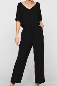 Why Deny It Jumpsuit (Black)