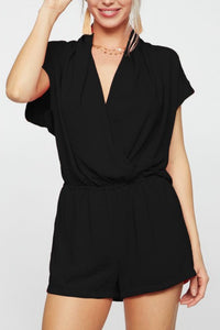 Be Your Best Romper (Black)