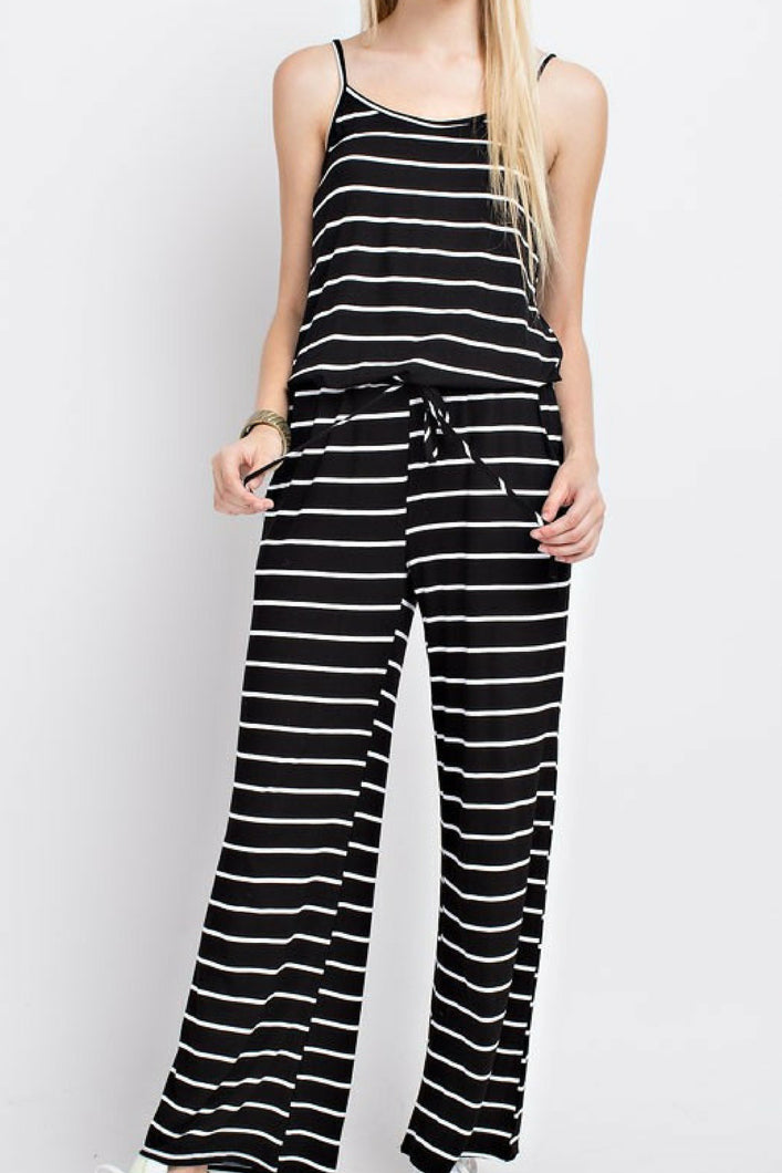 Vacation Bound Jumpsuit (Black)