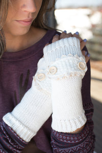 Helping Hands Hand Warmers (Ivory)
