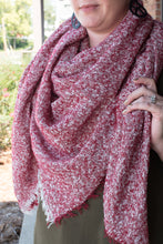 Load image into Gallery viewer, Oh So Chic Blanket Scarf (Red)