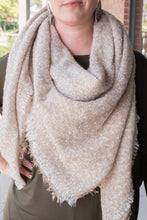 Load image into Gallery viewer, Oh So Chic Blanket Scarf (Beige)