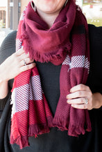 Load image into Gallery viewer, Leave the Cold Behind Scarf (Red)