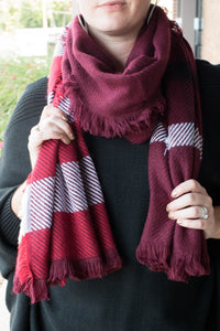 Leave the Cold Behind Scarf (Red)