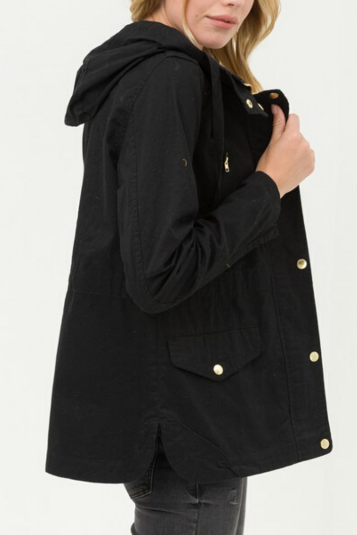 Ready for Anything Utility Jacket (Black)