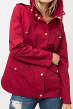 Load image into Gallery viewer, Ready for Anything Utility Jacket (Burgundy)