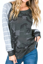Load image into Gallery viewer, Weekend Hide Out Raglan Top