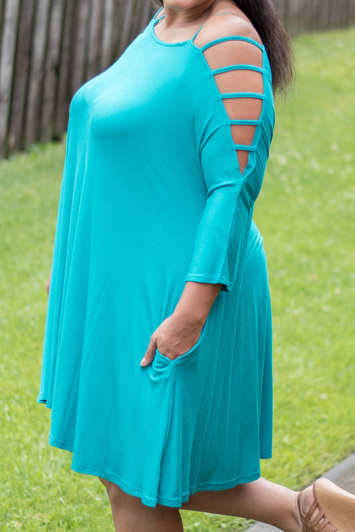 Check Me Out Dress (Jade)