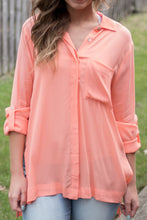 Load image into Gallery viewer, Nothing Compares Blouse (Peach)