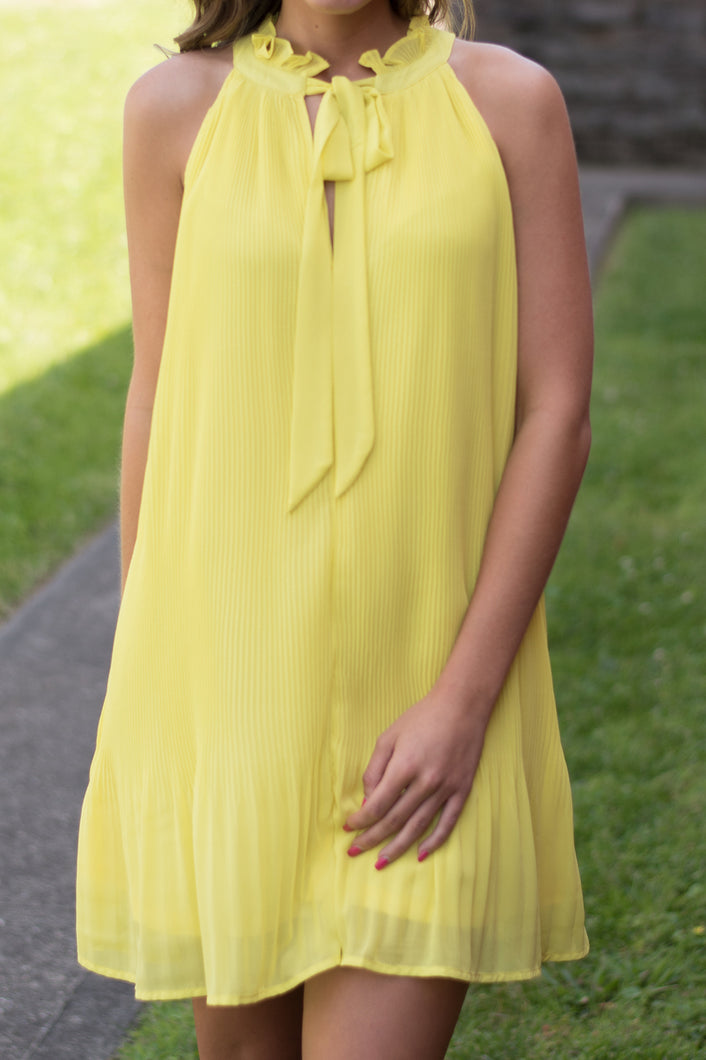 Ray of Sunshine Dress (Yellow)