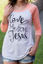 Load image into Gallery viewer, Love Me Some Jesus Tee