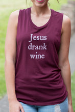 Load image into Gallery viewer, Jesus Drank Wine Tank