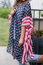Load image into Gallery viewer, Star Spangled Kimono