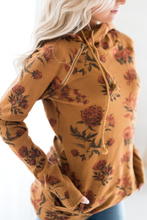 Load image into Gallery viewer, DoubleHood Ampersand Ave™ Sweatshirt - Floral Mustard