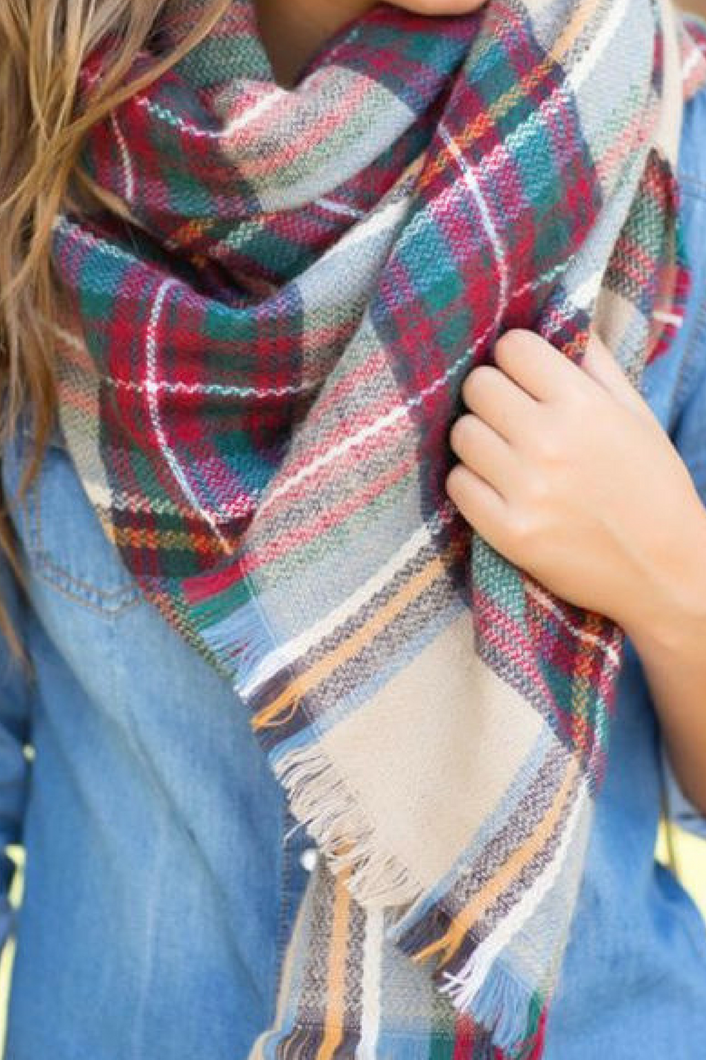 The Trend Setter Blanket Scarf