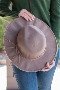 On the Road Again Hat (Light Brown)