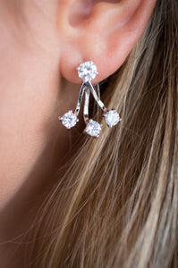 Next Level Earrings (Silver)